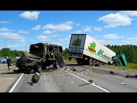 Автомобильные ДТП и аварии 2014 видео