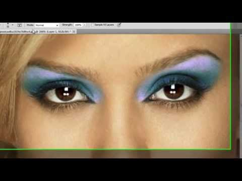 Photoshop CS5 - Digital Make Up - Tutorial