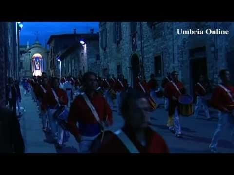 La sveglia dei tamburini - Corsa dei Ceri di Gubbio