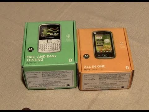 Motorola dual sim Ex115 & Ex128 unboxing and review