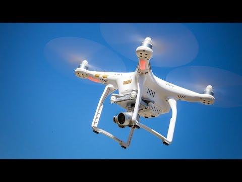 Квадрокоптер DJI Phantom 3 Pro - обзор в 4К