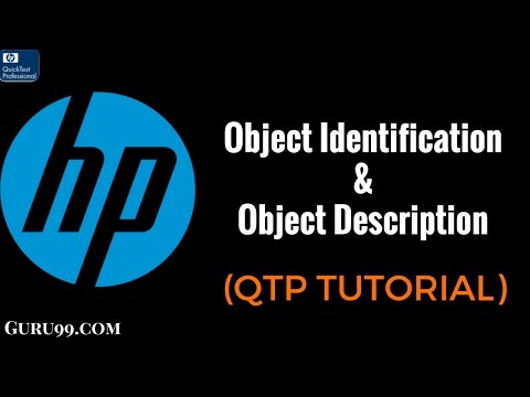 QTP 19 : Object Identification & Object Description