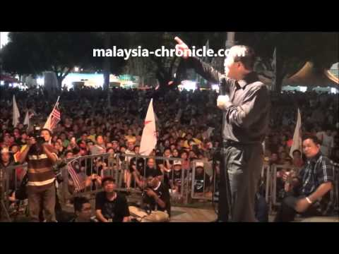 Guan Eng's speech at Penang thanksgiving May 18, 2013