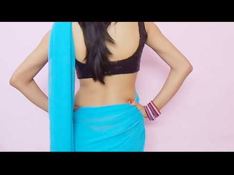 How To Wear Bollywood Saree-Drape Sari Wraping Video/Low Waist Saari