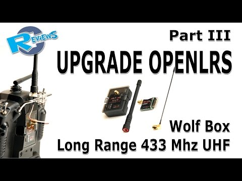 FW upgrade Wolfbox Long Range 1000mW 433MHz UHF Tx & 100mW Rx - UCv2D074JIyQEXdjK17SmREQ