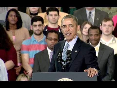 President Obama Speaks on Raising the (Minimum Wage) 3/5/14