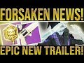 Destiny 2 Forsaken. NEWS UPDATE! Last Wish Raid Trailer, Powerful Gear Glitch, Weapon Retirement