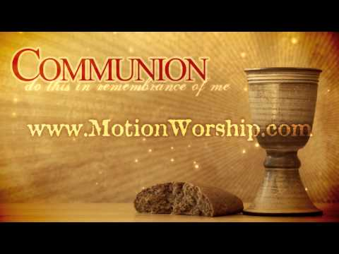 Communion Wine Bread HD Worship Motion Background