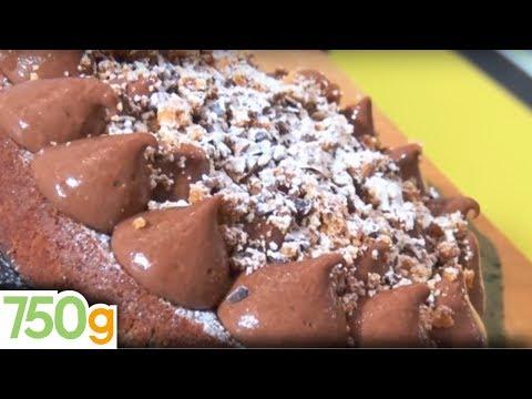 Recette du Gâteau crousti-crémeux au chocolat  - 750g