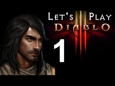Diablo 3 Beta - Demon Hunter Let's Play: ForceHunt - Part 1