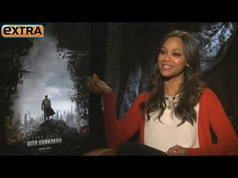Zoe Saldana on Spock Romance: I Could Lose a Kidney Over 'Star Trek' Spoilers