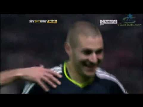 Sevilla vs Real Madrid (0-1) Goals & Highlights 2011 Sevilla 0-1 Real Madrid