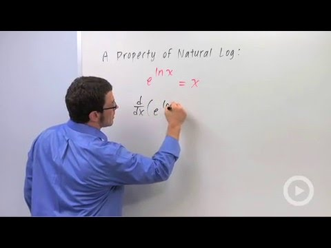 Calculus - Chain Rule: The General Logarithm Rule
