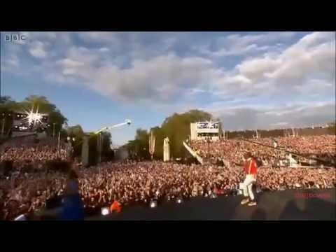 "Will.i.am & Jessie J ""I gotta feeling"" Live Diamond Jubilee Concert 2012"