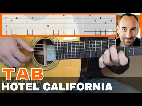 "Video-Tab ""Hotel California"" - MLR-Guitar Lessons"