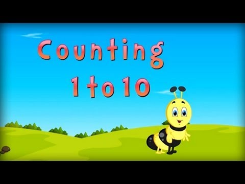 Counting Numbers for Children | English Counting Numbers for Preschoolers, Kindergarten