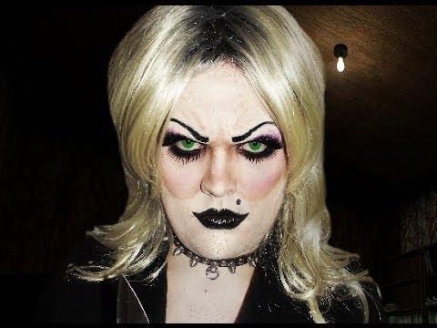Tiffany - Bride of Chucky - Makeup Tutorial! - UCAAszizDDdScfqclAybLiEA