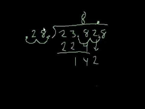 Divisione di numeri decimali