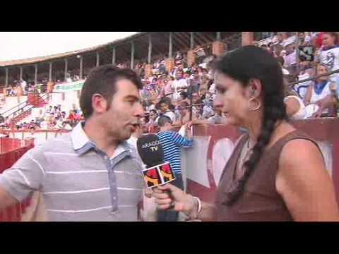 Consurso de recorte libre con toros celebrado en Tarazona el 31 de agosto de 2011, y emitido en Aragón Televisión el 1 de Septiembre.
