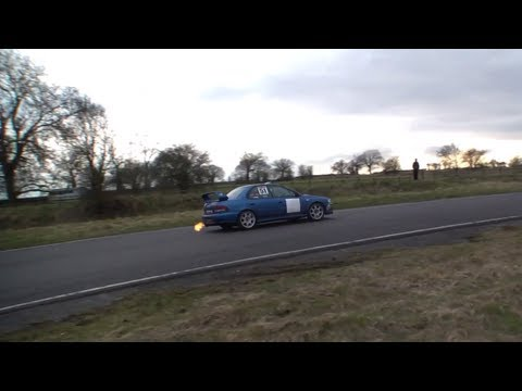 525bhp Subaru Impreza WRX STi Type RA on Curborough Sprint Circuit