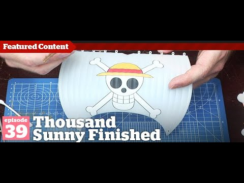 Gunpla - Episode 39 One Piece - Thousand Sunny