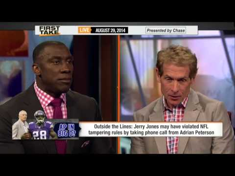 Jerry Jones Violates NFL Tampering Rules!!     8/29/14       (Sports)