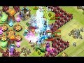 Castle Clash HBM Defense for Wave I and J