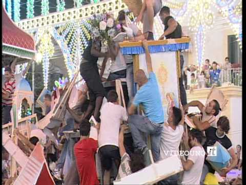 Festa Maria SS. della Bruna 2012 - Assalto al carro