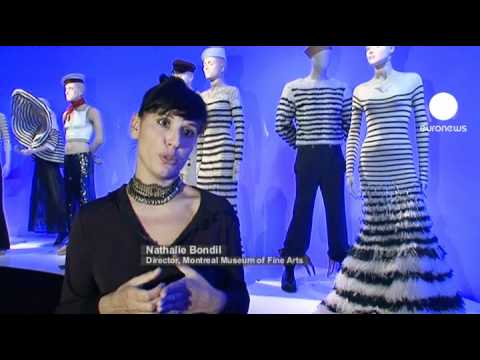 euronews le mag - Jean Paul Gaultier dresses Montreal