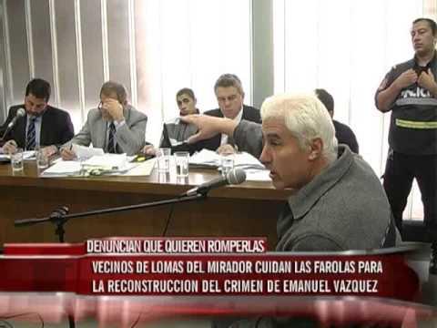Muerte de Emanuel Vázquez: Denuncian que intentan romper las farolas para impedir la reconstrucción