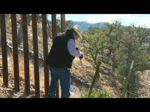 Rancher: Mexican border isn't secure 1/29/13