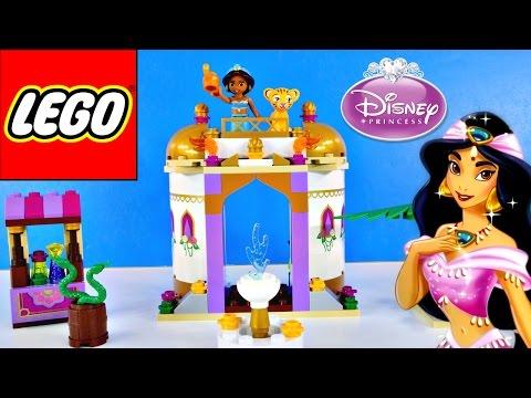 Lego Disney Princess Jasmine 143 PCS Exotic Palace DCTC Princesa de LEGO Kid Building Block Toys - matercarclub