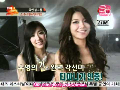[2011.11.10] ETN Entertainment News Making of The Boys MV - SNSD (en)