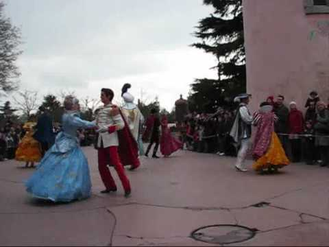 parade des reves Disney - show stop romance princesses - Disneyland Paris - 21.03.2010