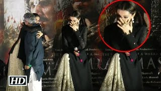 Deepika Padukone CRIES in Public At Bajirao Mastani Trailer Launch