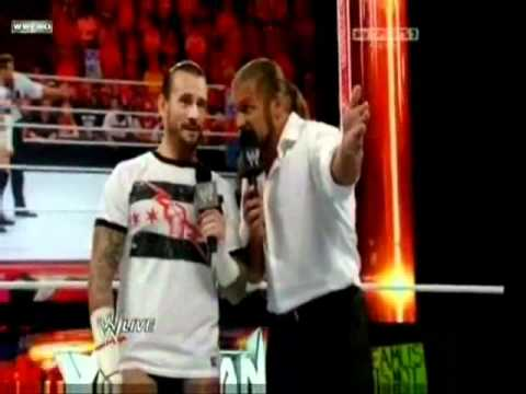 "CM Punk funny moment 2011 ""The Blazer""!"