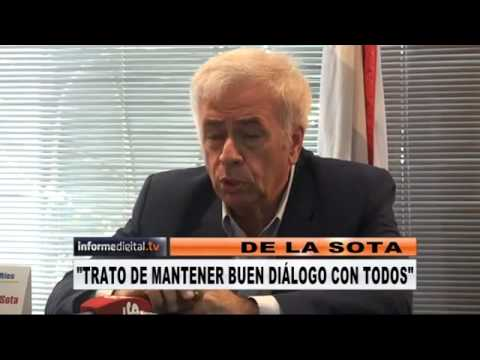 <b>De La Sota pas� por Entre R�os.</b> El cordob�s analiz� la situaci�n pol�tica nacional.