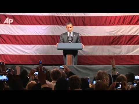 Raw Video: Heckler Interrupts Obama Fundraiser