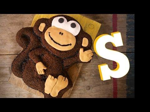 Monkey Banana Cake Recipe