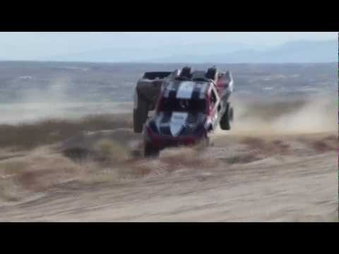 AMAZING Trophy Truck Crash At High Speed In 2012 Laughlin Desert Challenge