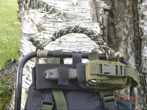 Paracordist's Alice Pack Paracord Handle