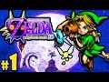 the legend of zelda majora's mask 3ds part 1 clock town scrub gameplay walkthrough nintendo