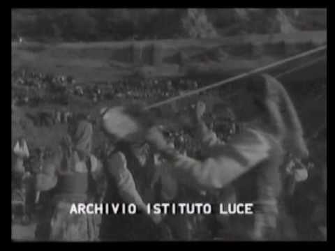 PETRALIA SOTTANA - Corteo Nuziale e Ballo della Cordella - 1955.wmv