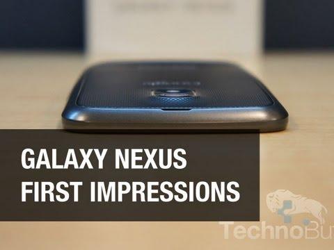 Galaxy Nexus 1st Impressions - Worth Buying?