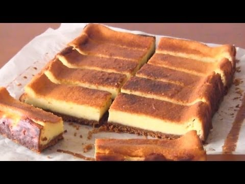How to Make Japanese Baked Cheesecake (Recipe) ベイクドチーズケーキ (レシピ)