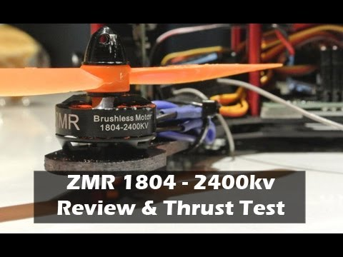 Zmr 1804 2400kv Motors Review And Thrust Test