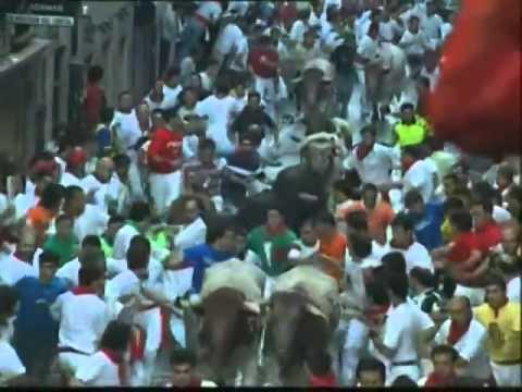 Encierro de San Fermín día 10 de Julio de 2003 480p