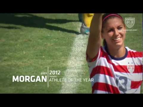 Alex Morgan: 2012 U.S. Soccer Female Athlete of the Year