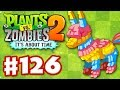 Plants vs. Zombies 2: It's About Time - Gameplay Walkthrough Part 126 - Piñata Party (iOS)