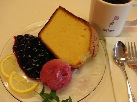 Betty's Perfect Lemon Pound Cake
